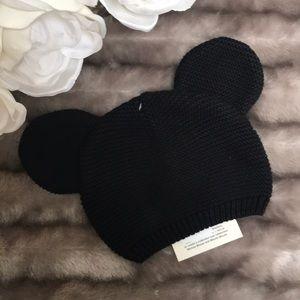 Baby Gap Mickey Ears Knit Hat. NWT
